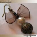 """Cercei tip """"Butterfly"""" accesorii cupru"""