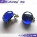 """Cercei """"Serenity"""" blue,  cu clipsuri"""