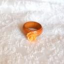Inel Lemn Trandafir Rășină