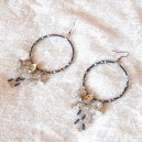 Cercei Ice Princess Cristale cu elemente Swarovski