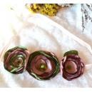 Bentita Elastica de Par Statement tip Embelishment Flori Textile De Poveste Stil Vintage Romantic Shabby Chic