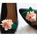 Accesorii tip Flori Textile pentru Pantofi Detasabile cu Clips Embelishment  Floral Collection